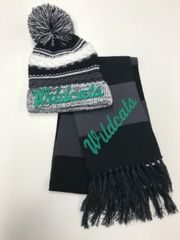 Mogadore SALE - Pom Pom Hat and Scarf Combo Sale!