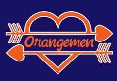 Ellet- Orangemen Heart Logo