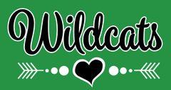 Mogadore- Wildcats Heart Logo