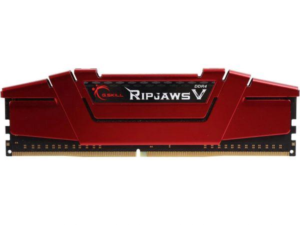 G.SKILL Ripjaws V Series 8GB 288-Pin DDR4 SDRAM DDR4 2400 (PC4 19200) Intel Z170 Platform / Intel X99 Platform Desktop Memory Model F4-2400C15S-8GVR