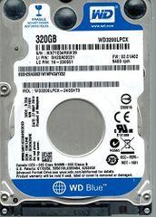 Western Digital WD3200LPCX-24C6HT0 320GB DCM: EBKTJHK