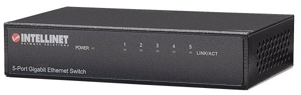 Intellinet 530378 5-Port Gigabit Ethernet Switch