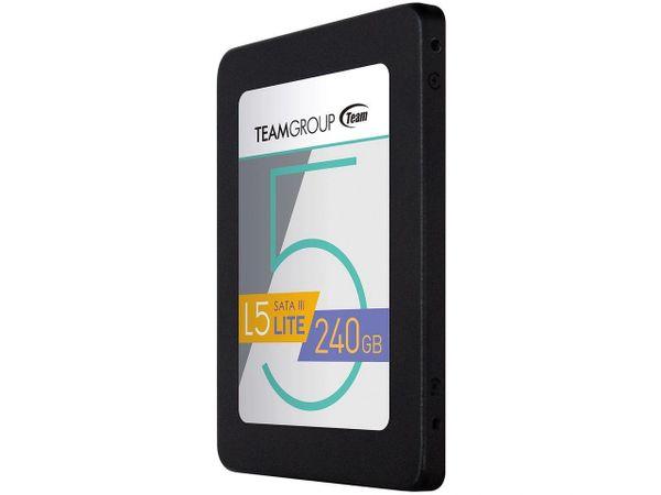 """Team Group L5 LITE 2.5"""" 240GB SATA III Internal Solid State Drive (SSD) T2535T240G0C101"""