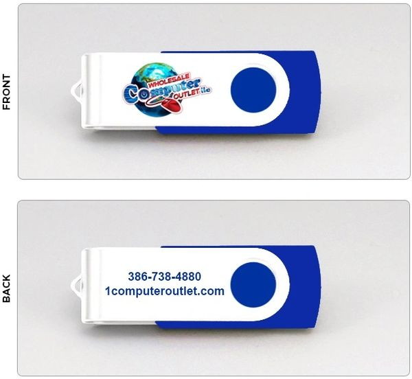 8GB 2.0 Flash Drive - Store Logo