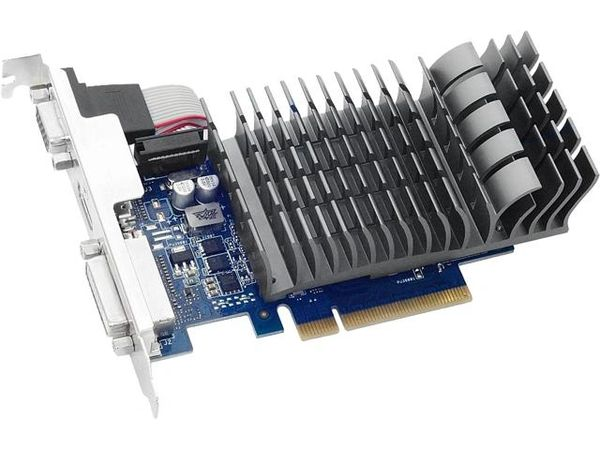 ASUS GeForce GT 710 DirectX 12 710-2-SL-CSM 2GB 64-Bit DDR3 PCI Express 2.0 x 8 HDCP Ready Video Card