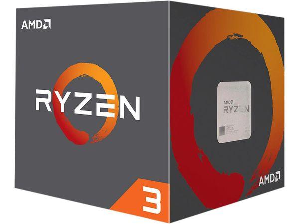 AMD RYZEN 3 1200 4-Core 3.1 GHz (3.4 GHz Turbo) Socket AM4 65W YD1200BBAEBOX Desktop Processor