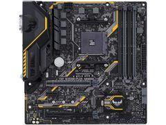 ASUS TUF B350M-PLUS GAMING AM4 AMD B350 SATA 6Gb/s USB 3.1 HDMI Micro ATX AMD Motherboard