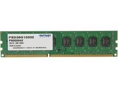 Patriot Signature 8GB 240-Pin DDR3 SDRAM DDR3 1333 (PC3 10600) Desktop Memory Model PSD38G13332