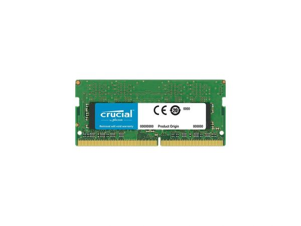 Crucial 8GB 260-Pin DDR4 SO-DIMM DDR4 2400 (PC4 19200) Notebook Memory Model CT8G4SFD824A