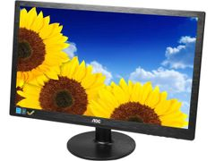 """AOC E2260SWDN Black 21.5"""" 5ms Widescreen LCD/LED Monitor, 200 cd/m2 20,000,000:1, VESA Mountable, Embedded Screen+ Software, Ultra Low Power Consumption, D-Sub, DVI"""