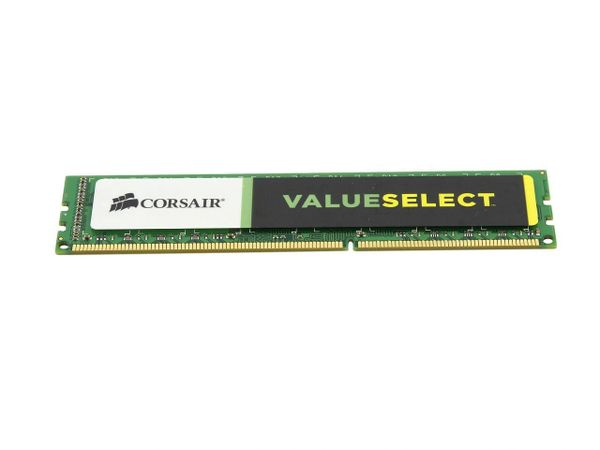 CORSAIR ValueSelect 4GB 240-Pin DDR3 SDRAM DDR3 1600 Desktop Memory Model CMV4GX3M1A1600C11