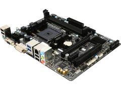 GIGABYTE GA-F2A68HM-HD2 FM2+ AMD A68H SATA 6Gb/s USB 3.0 HDMI Micro ATX AMD Motherboard
