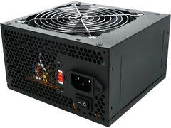 Logisys Corp. 550W 120mm Ball Bearing Fan with PSU ATX 550 Power Supply PS550E12BK, Black