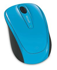 Microsoft 3500 Wireless Mobile Mouse, Cyan Blue