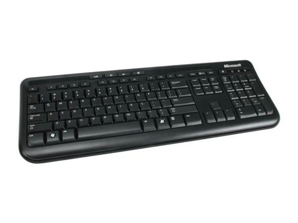 Microsoft Wired Keyboard 600 ANB-00001 Black 104 Normal Keys USB Wired Standard Keyboard