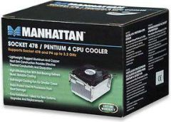 Manhattan 701853 Intel S478 CPU Cooler