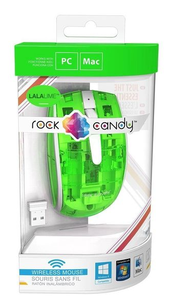 PDP Rock Candy Wireless Mouse - Lalalime (904-002-NA-NGR)