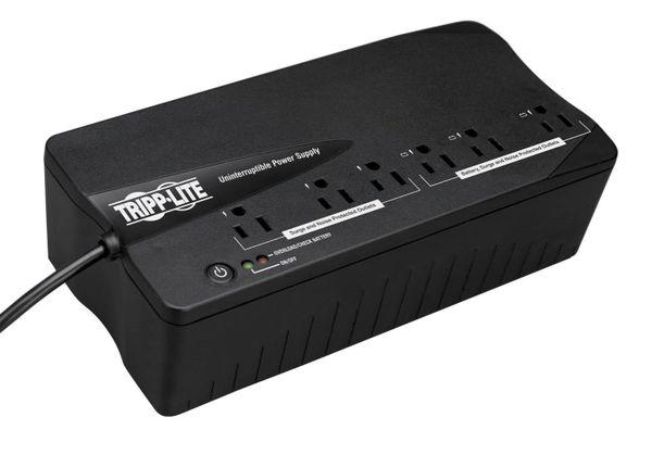 Tripp Lite BC350 350VA 180W UPS Desktop PC / MAC Battery Back Up Compact 120V, 6 Outlets