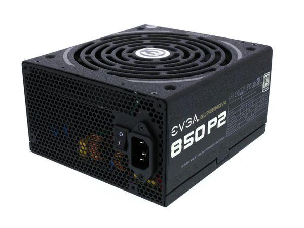 EVGA 220-P2-0850-X1 P2 80 Plus Platinum, 850W ECO Mode Fully Modular Power Supply