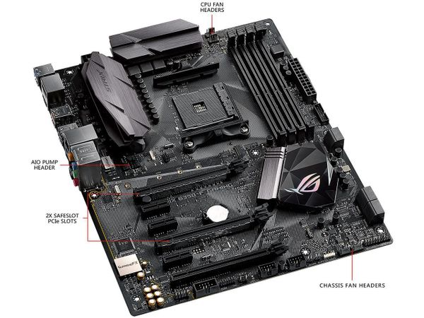 ASUS ROG STRIX B350-F GAMING AM4 AMD B350 SATA 6Gb/s USB 3.1 HDMI ATX AMD Motherboard