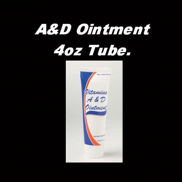 A&D Ointment 4oz Tube.