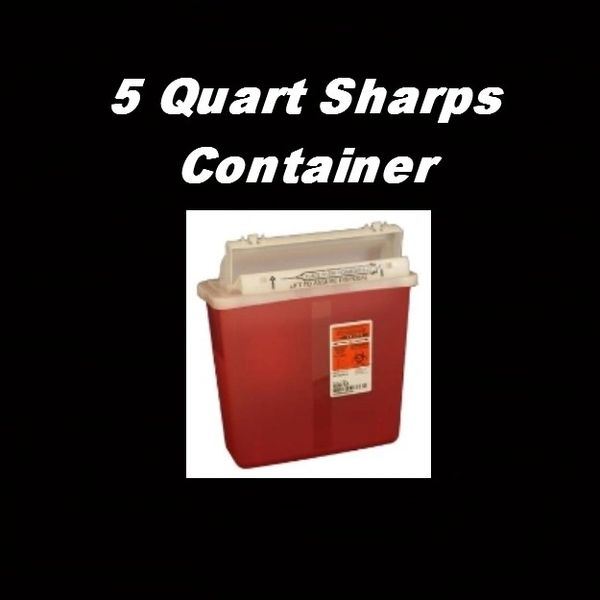 Sharps Containers Large