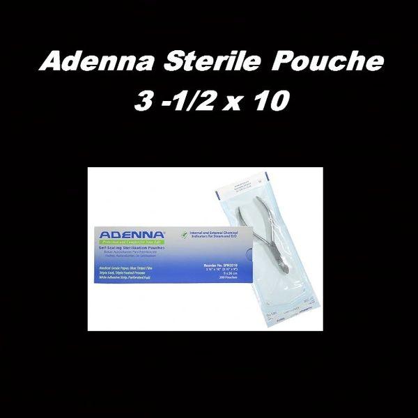 Adenna Sterile Pouch 3 1/2 x 10