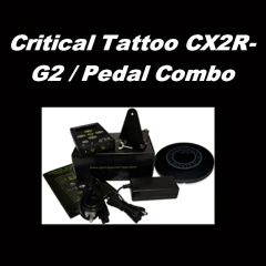 Critical Tattoo CX2R-G2 / Pedal Combo