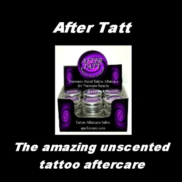 After Tatt - The amazing unscented tattoo aftercare