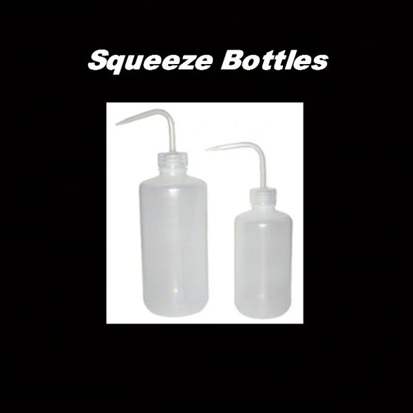 Squeeze Bottles 8oz & 16oz