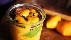 Moroccan spiced preserved Meyer Lemons