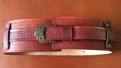 "4"" Wide Celtic Belt"