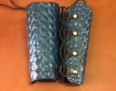 Dragon Hide Leather Archer Bracers