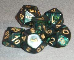 Chessex Scarab Polyhedral 7-Die set