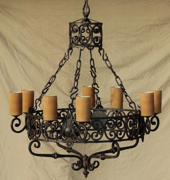 Spanish Revival Chandelier Spanish Revival Lighting