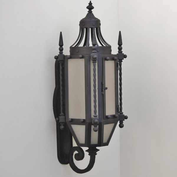 7048 3 hand forged wrought iron gothic medieval style wall outdoor 7048 3 hand forged wrought iron gothic medieval style wall outdoor lighting mozeypictures Choice Image