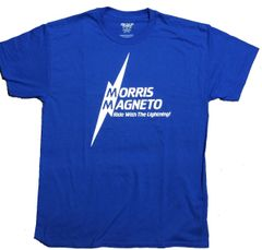 Morris Magneto Blue shirt (white)