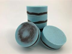 Beach Blue Scrubby Glycerin Body Soap