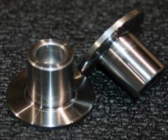 TITANIUM FIREWALL BRIDGE BUSHINGS