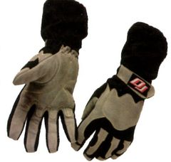 DJ SAFETY GLOVES SFI 3.3.5 TWO LAYER BLACK/GREY S,M,L,XL