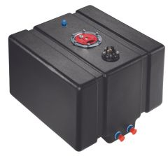 JAZ 12 GALLON PRO DRAG CELL W/ 0-90 OHM SENDING UNIT
