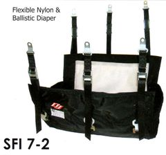 DJ SAFETY BALLISTIC SFI 7-2 HEMI/ 440 HEADER MOUNT