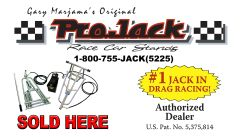 PROJACK RACE CAR STANDS