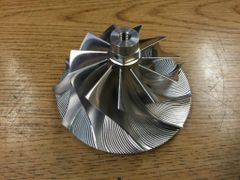LLY Duramax XTR-Billet Extended Tip Compressor Wheel