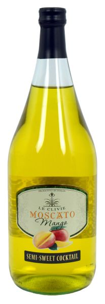 Le Clivie Mango Moscato 1.5L (1 case)