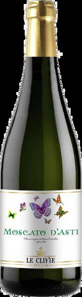 Le Clivie Moscato d'Asti (1 Case)