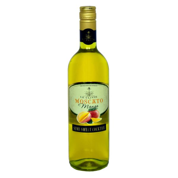 Le Clivie Mango Moscato 750ml (1 Case)