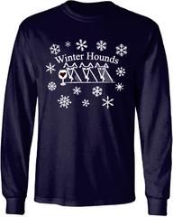 """Winter Hounds """"Adopt a Greyhound"""" Shirt"""