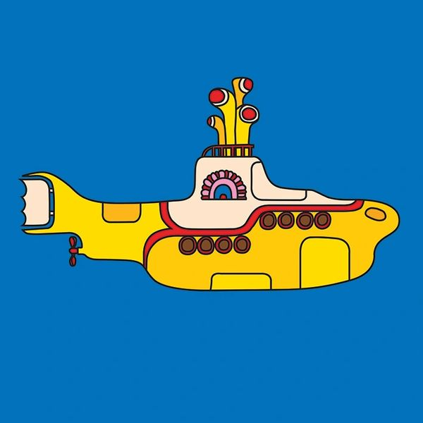 The Beatles Yellow Submarine Canvas Kadoo Flowers Gifts The