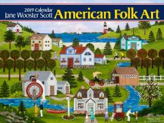 2019 JANE WOOSTER SCOTT WALL CALENDAR